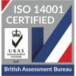 British Assessment Bureau ISO14001 Logo - UKAS
