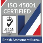 British Assessment Bureau ISO45001 Logo - UKAS